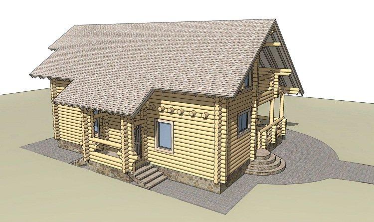 Дом на Истринском водохранилище