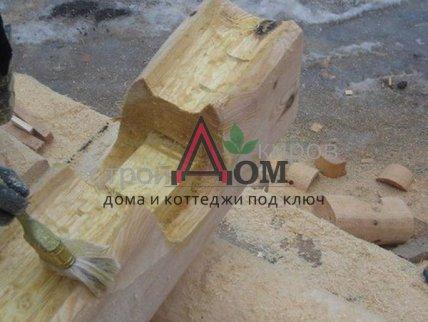 Срубы ручного изготовления