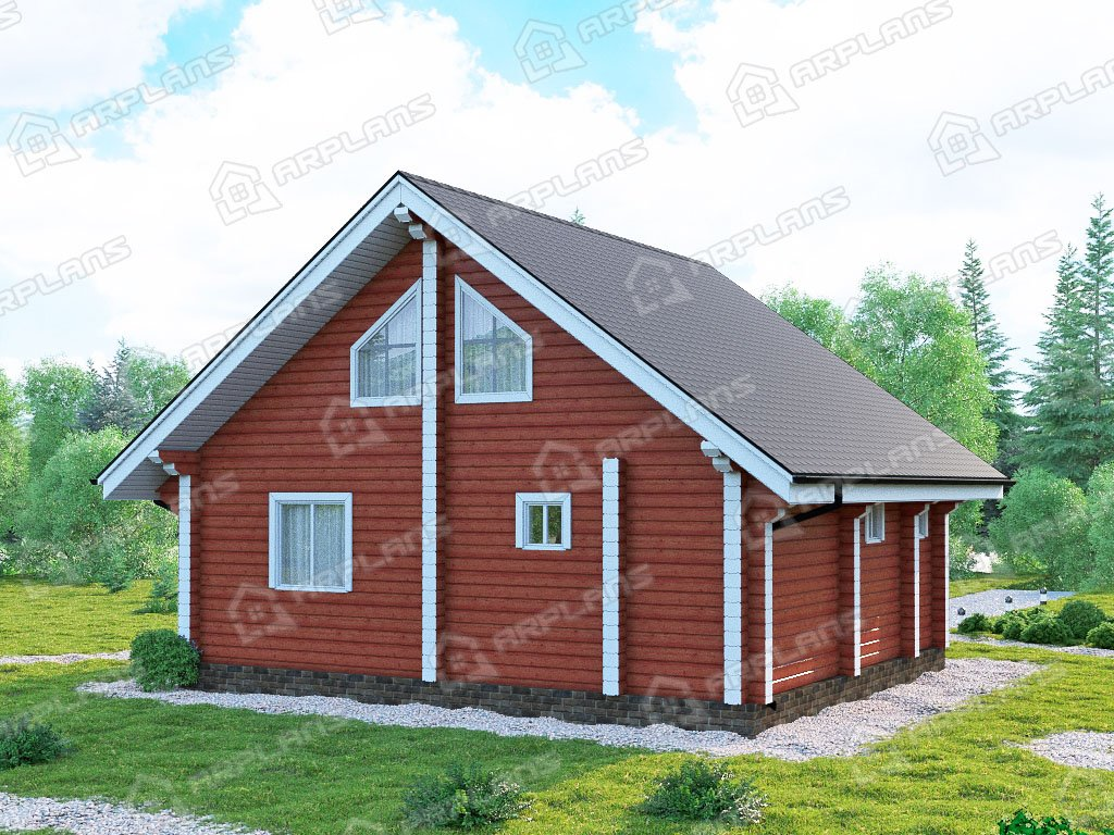 Проект дома ДС-106 (92.32 кв.м)