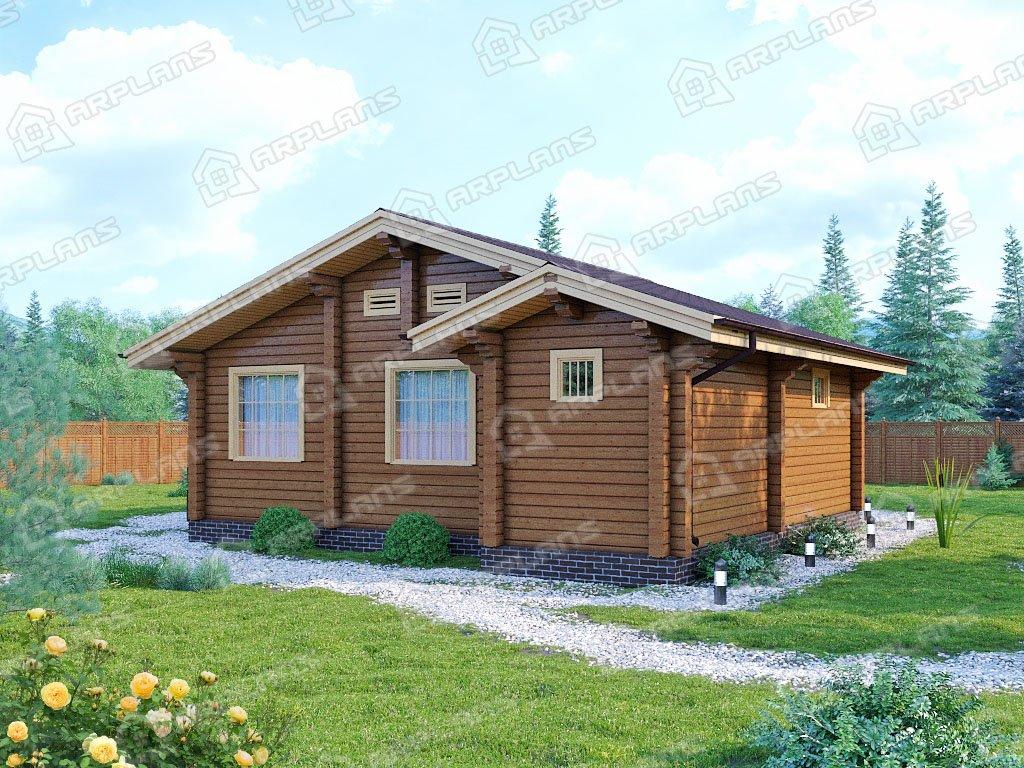 Проект дома ДС-105 (62.42 кв.м)