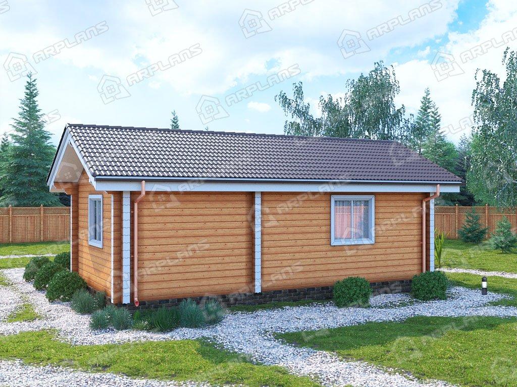 Проект дома ДС-104 (53.43 кв.м)