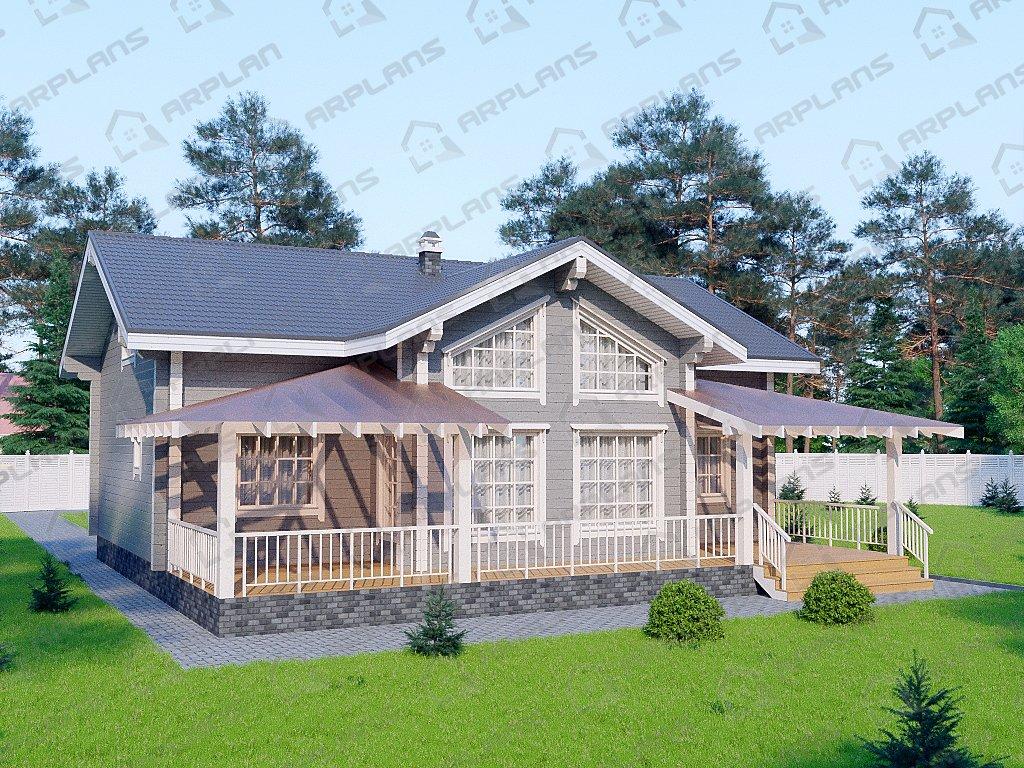 Проект дома ДС-102 (260.92 кв.м)