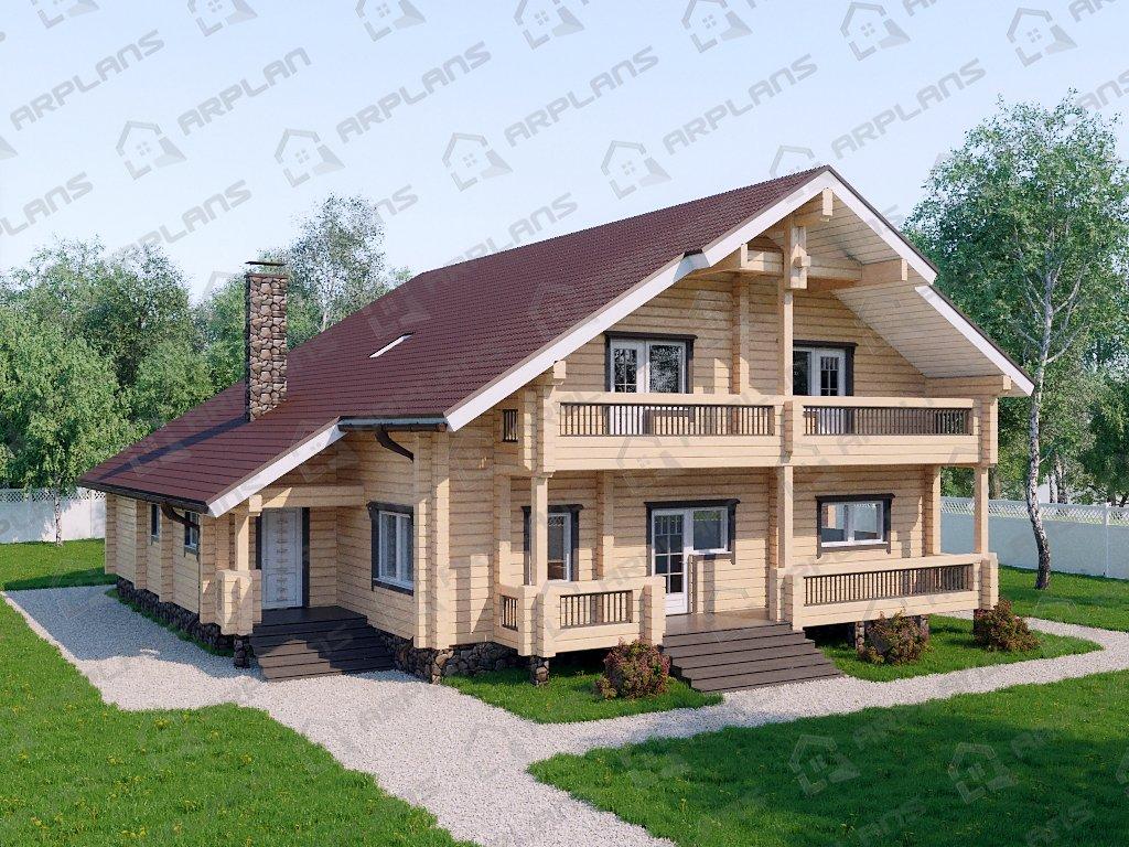 Проект дома ДС-099 (345.57 кв.м)