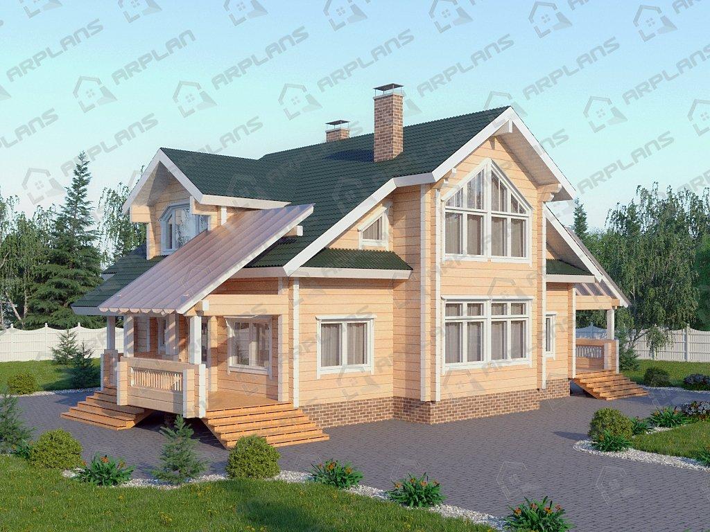 Проект дома ДС-098 (217.07 кв.м)