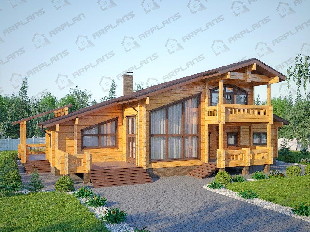 Проект дома ДС-094 (312.22 кв.м)