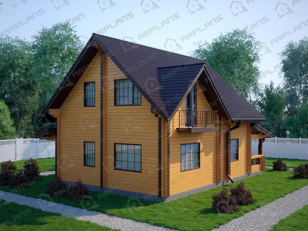 Проект дома ДС-093 (162.03 кв.м)