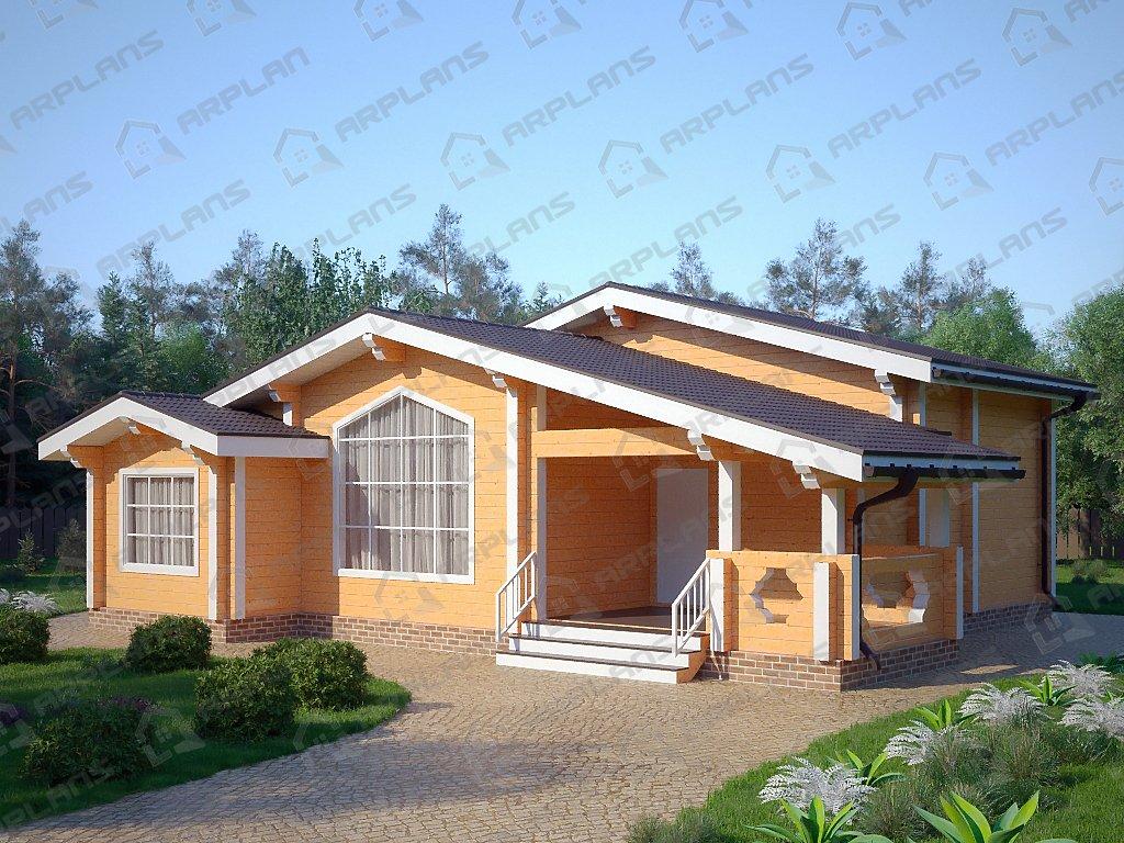 Проект дома ДС-091 (117.52 кв.м)