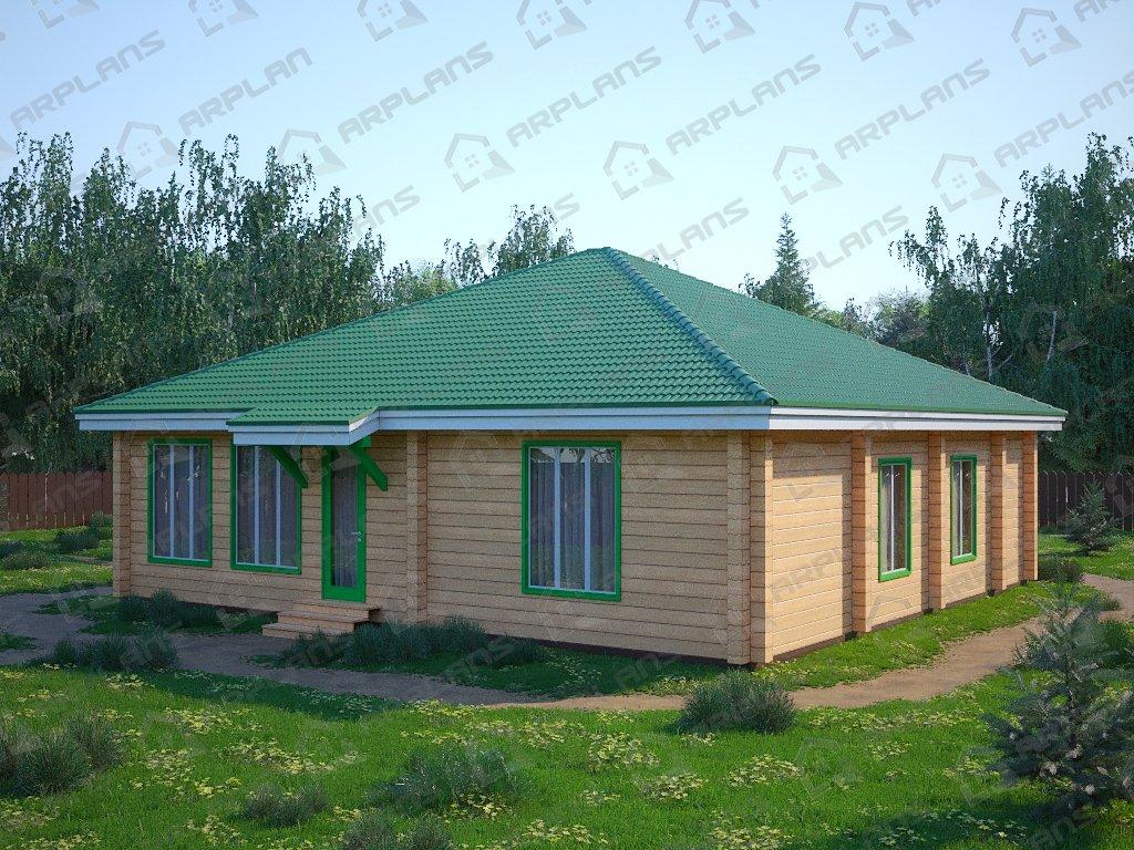Проект дома ДС-090 (129.92 кв.м)