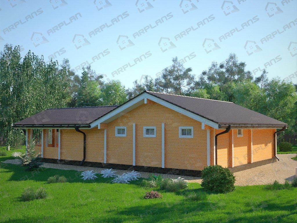 Проект дома ДС-089 (115.32 кв.м)