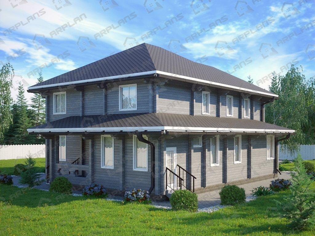 Проект дома ДС-088 (320.48 кв.м)