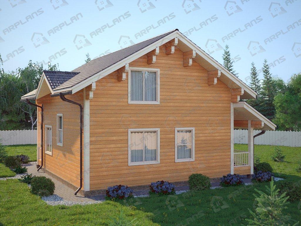 Проект дома ДС-086 (139.07 кв.м)