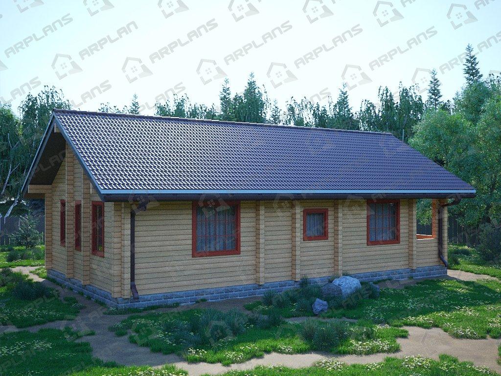 Проект дома ДС-085 (85.44 кв.м)