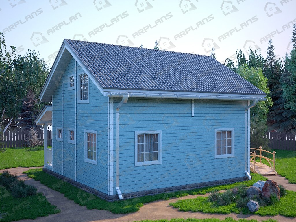 Проект дома ДС-083 (103.60 кв.м)