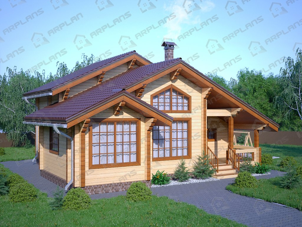 Проект дома ДС-082 (145.63 кв.м)