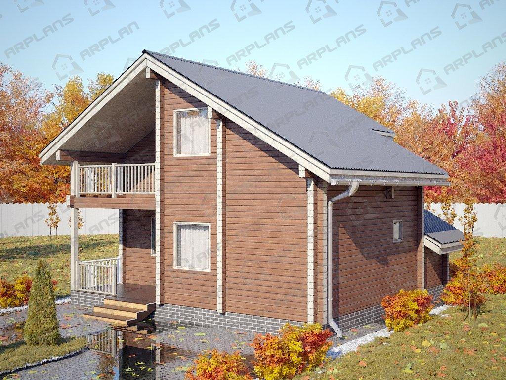 Проект дома ДС-081 (102.14 кв.м)