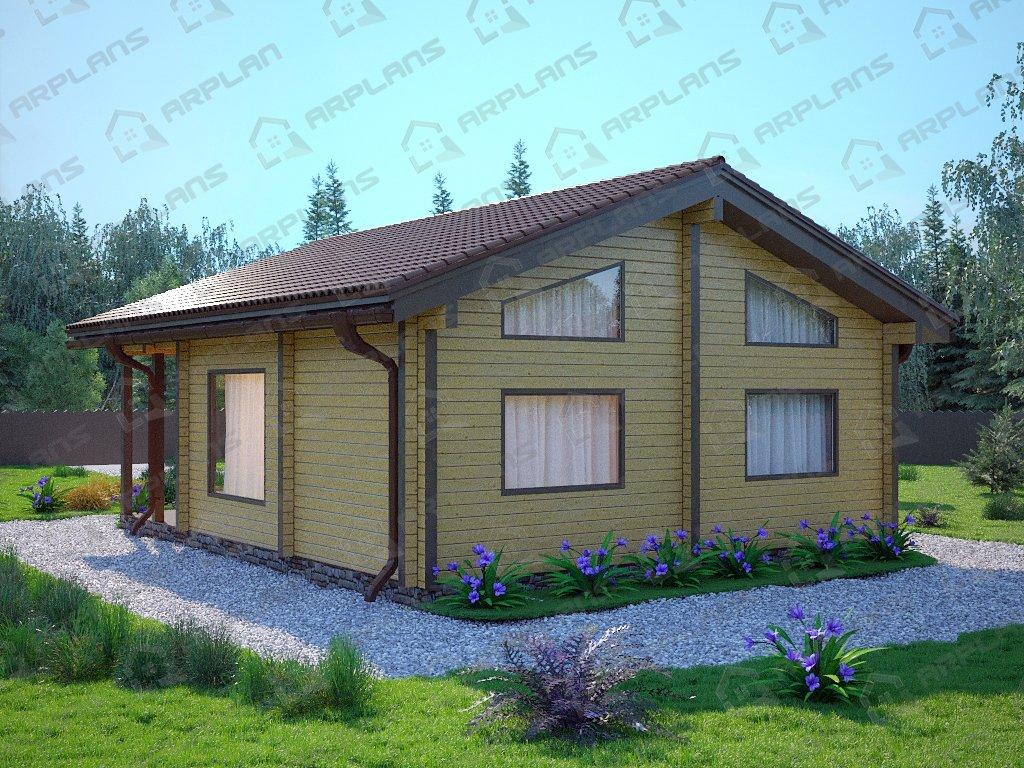 Проект дома ДС-080 (67.34 кв.м)