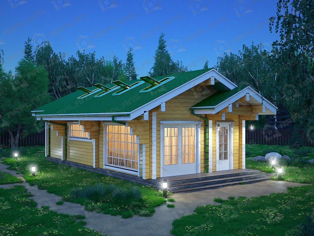 Проект дома ДС-078 (53.50 кв.м)