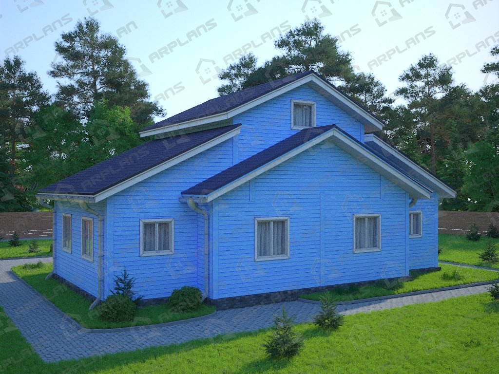 Проект дома ДС-077 (157.80 кв.м)