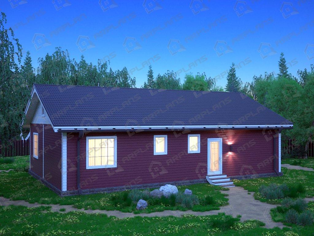 Проект дома ДС-076 (117.36 кв.м)