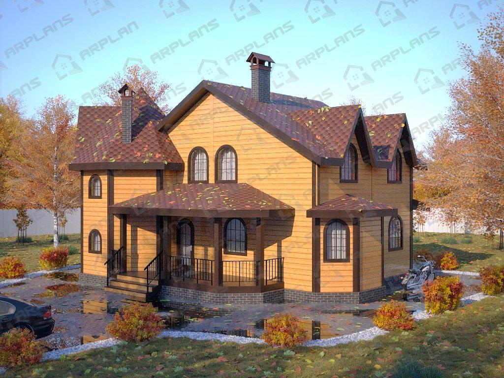 Проект дома ДС-074 (191.24 кв.м)