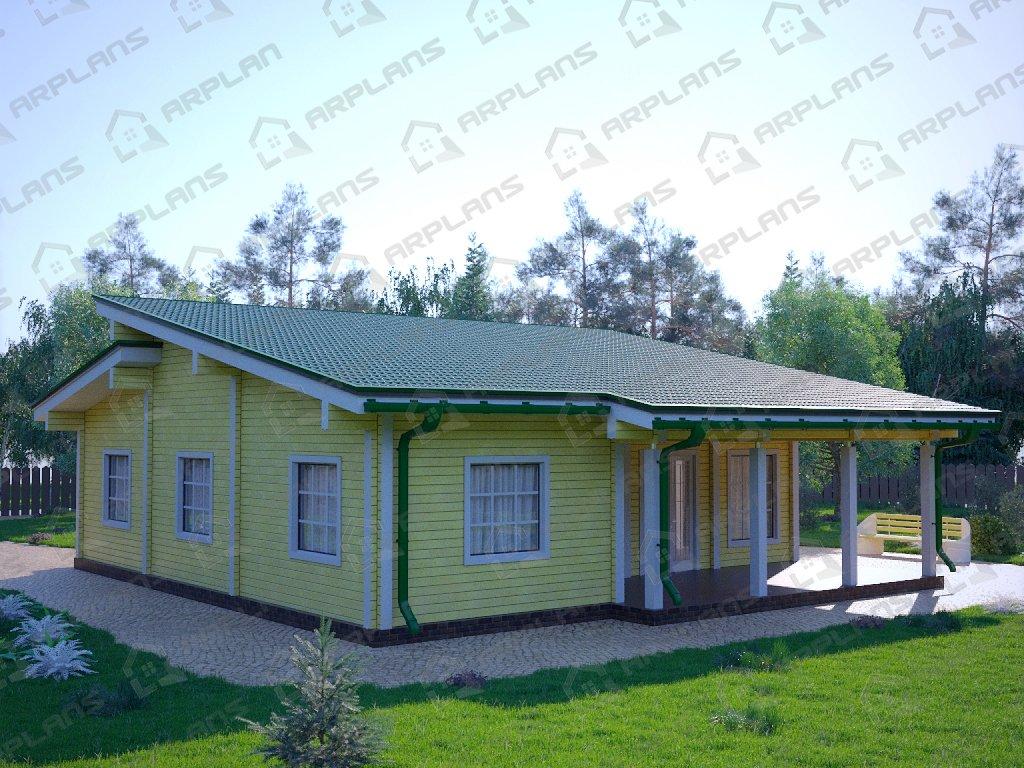 Проект дома ДС-073 (152.09 кв.м)