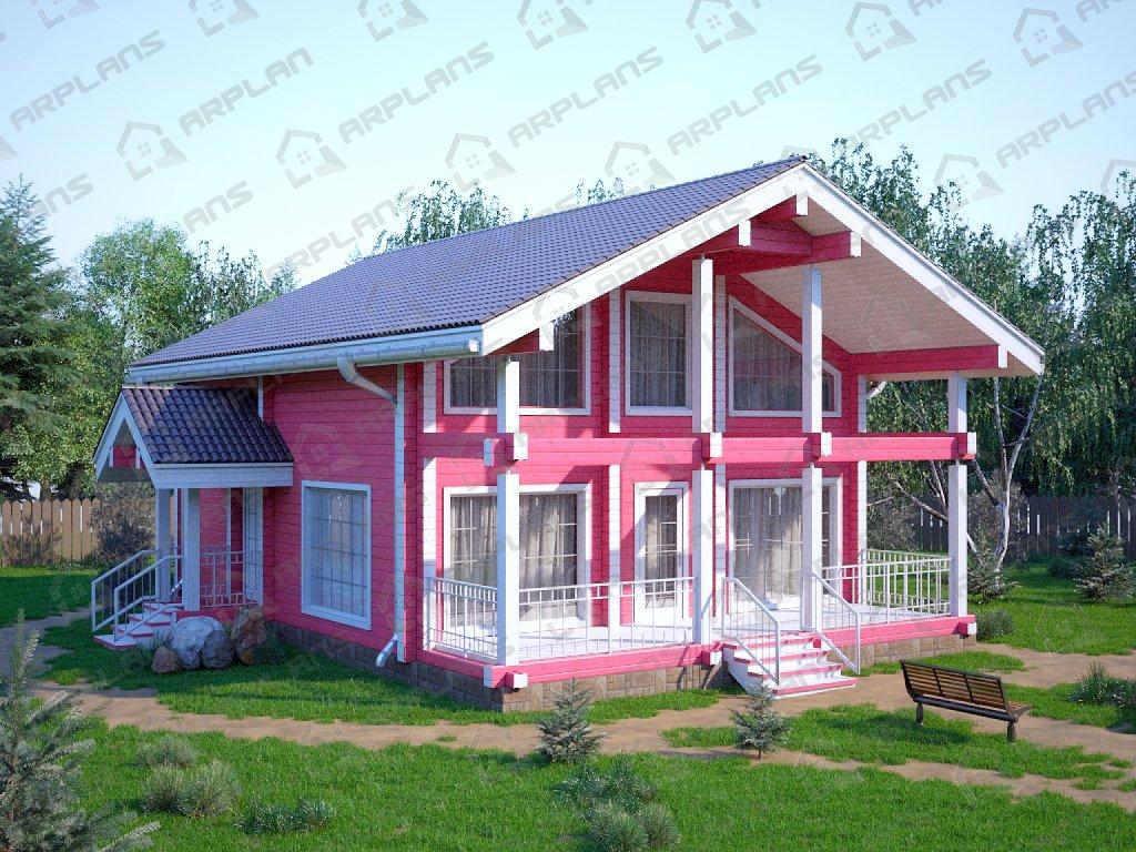 Проект дома ДС-010 (129.79 кв.м)
