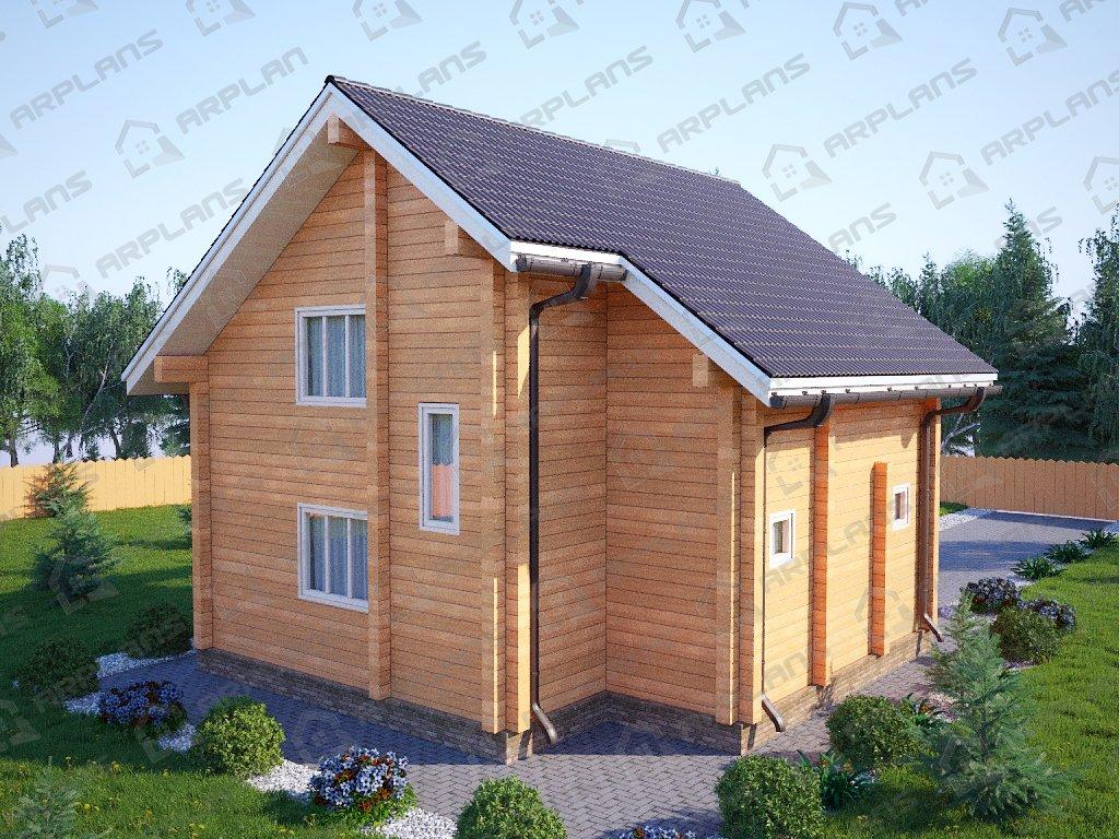 Проект дома ДС-014 (103.91 кв.м)