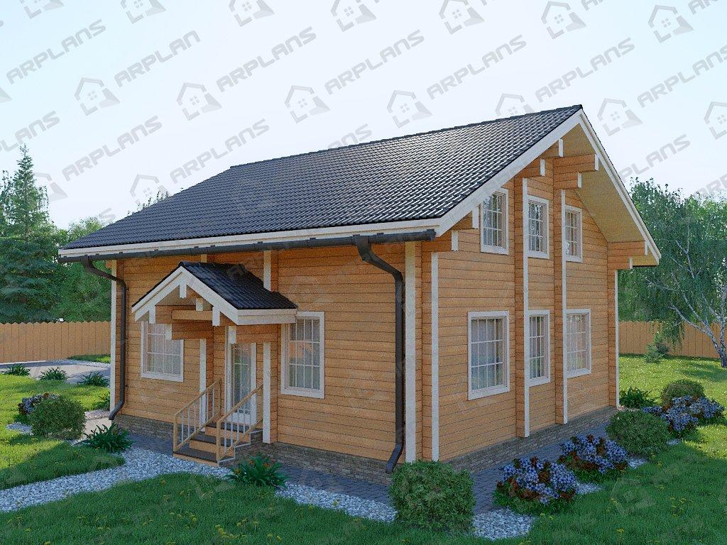 Проект дома ДС-072 (141.23 кв.м)