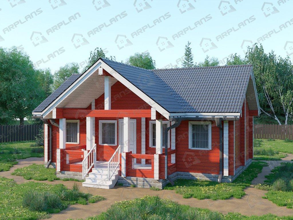 Проект дома ДС-071 (59.02 кв.м)