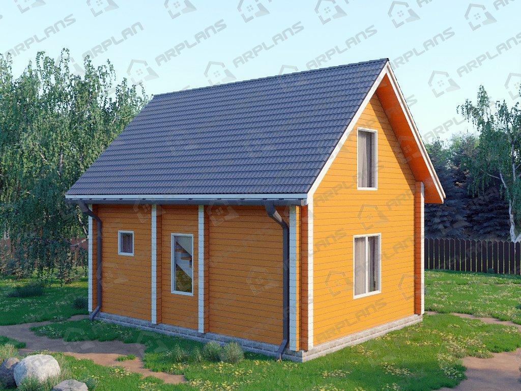 Проект дома ДС-070 (84.83 кв.м)