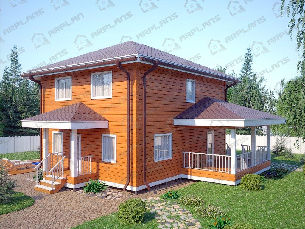 Проект дома ДС-069 (164.03 кв.м)