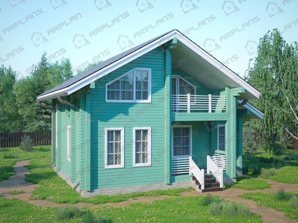 Проект дома ДС-066 (118.33 кв.м)
