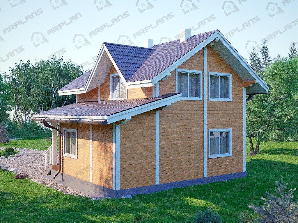 Проект дома ДС-062 (87.01 кв.м)