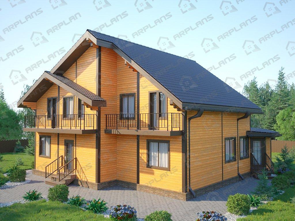 Проект дома ДС-061 (225.77 кв.м)