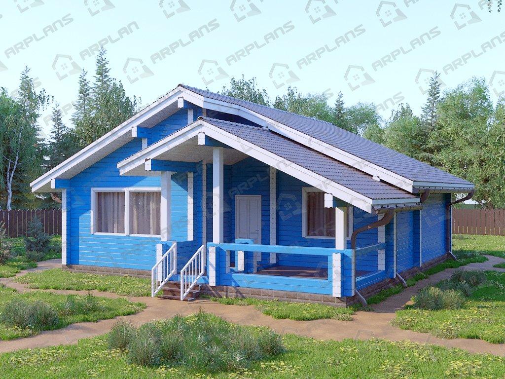 Проект дома ДС-060 (102.44 кв.м)