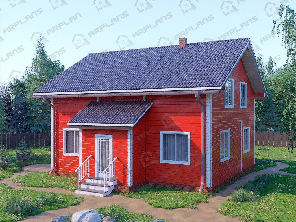 Проект дома ДС-059 (171.28 кв.м)