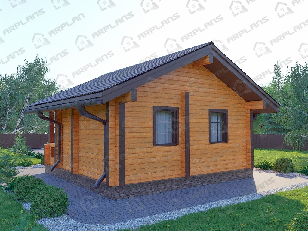 Проект дома ДС-056 (31.48 кв.м)