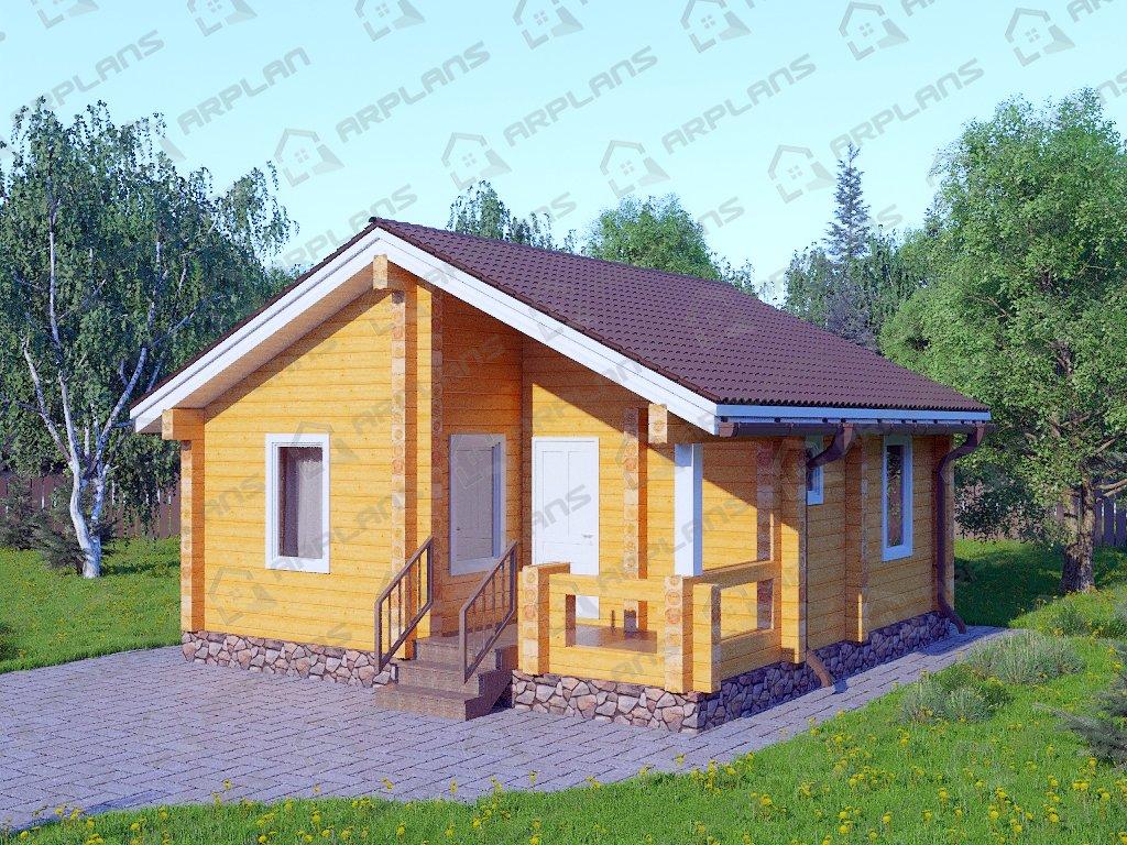 Проект дома ДС-055 (43.28 кв.м)