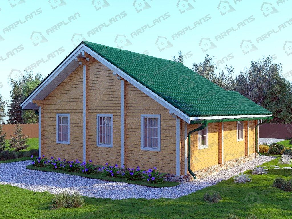 Проект дома ДС-052 (73.31 кв.м)