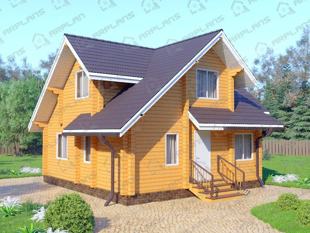 Проект дома ДС-051 (98.76 кв.м)