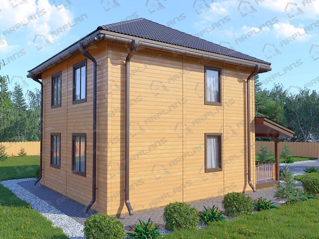 Проект дома ДС-050 (118.34 кв.м)