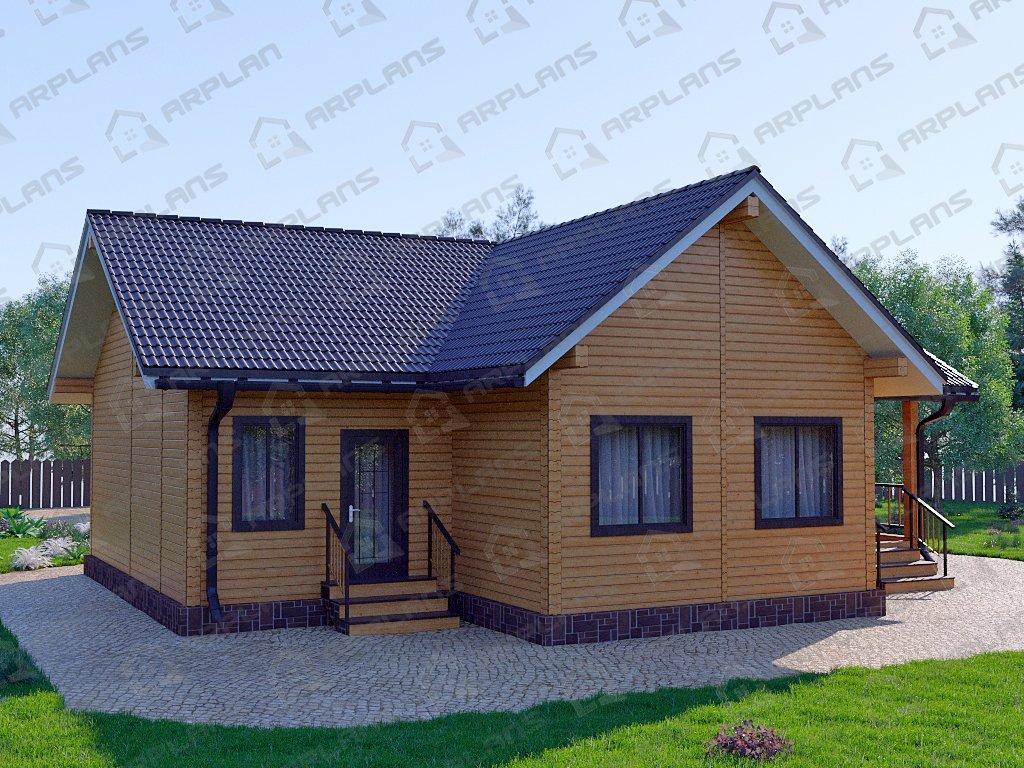Проект дома ДС-049 (118.26 кв.м)
