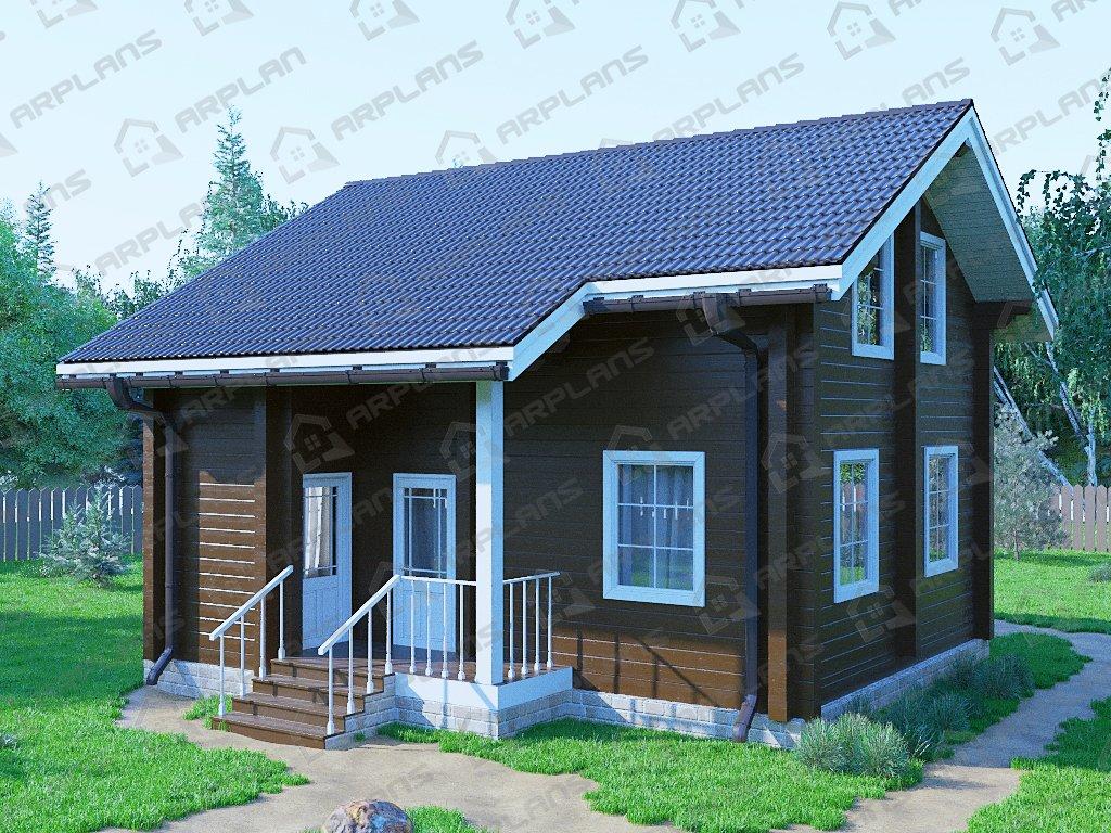 Проект дома ДС-047 (88.21 кв.м)
