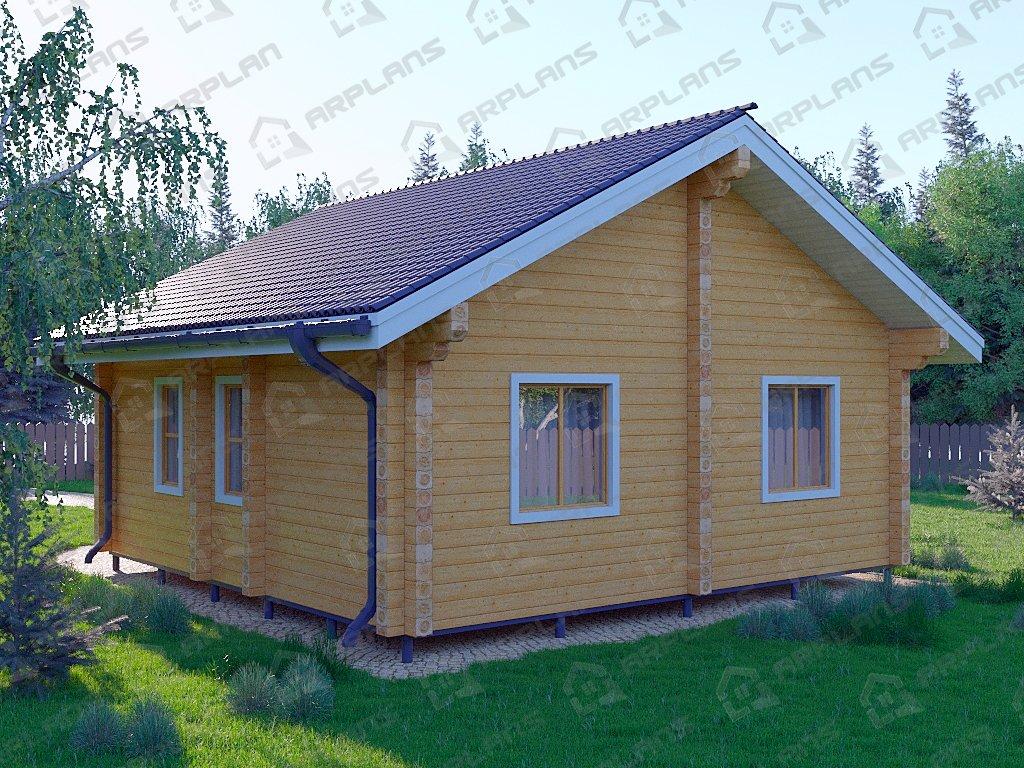 Проект дома ДС-046 (57.10 кв.м)