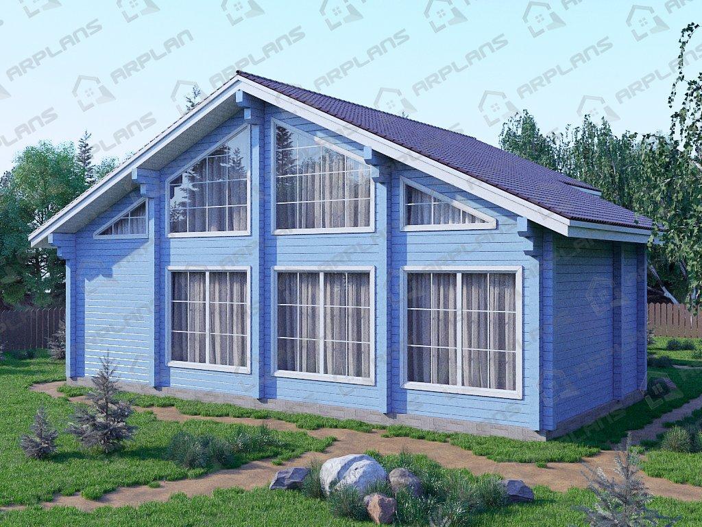 Проект дома ДС-045 (187.80 кв.м)