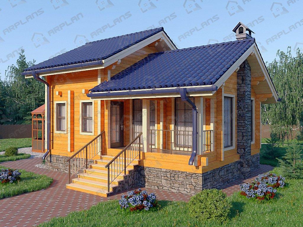 Проект дома ДС-044 (67.25 кв.м)