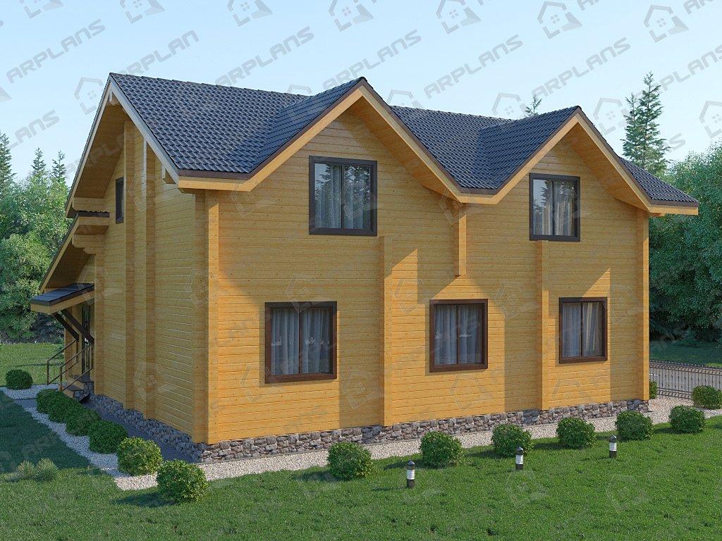 Проект дома ДС-043 (220.61 кв.м)