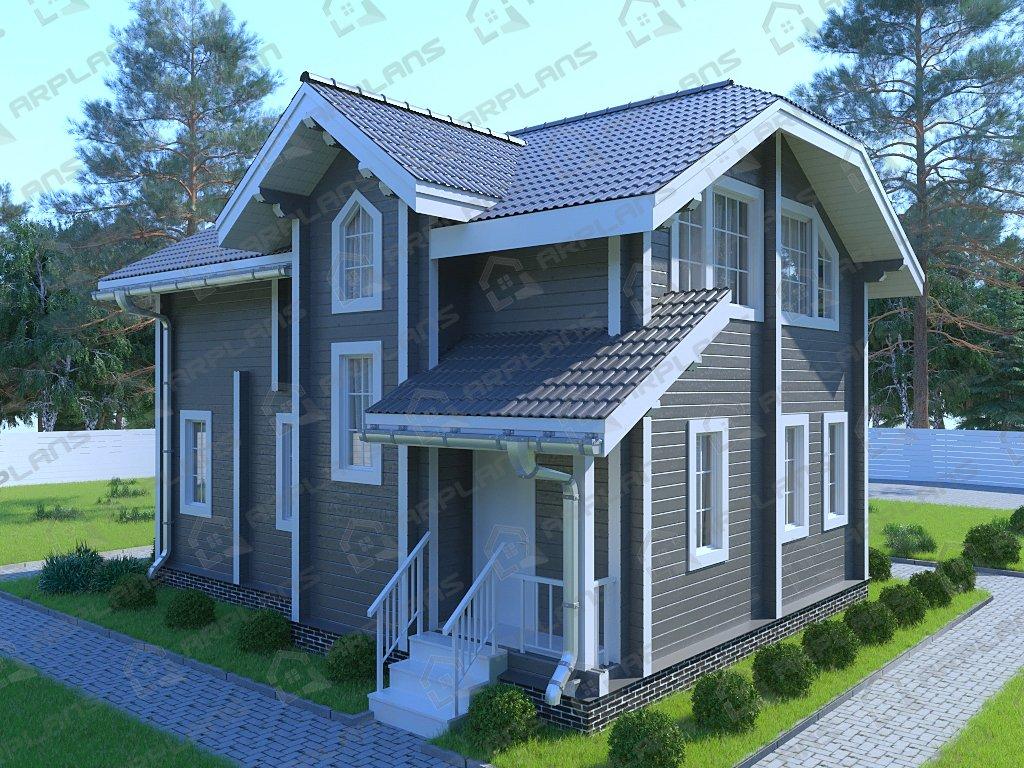 Проект дома ДС-042 (119.01 кв.м)