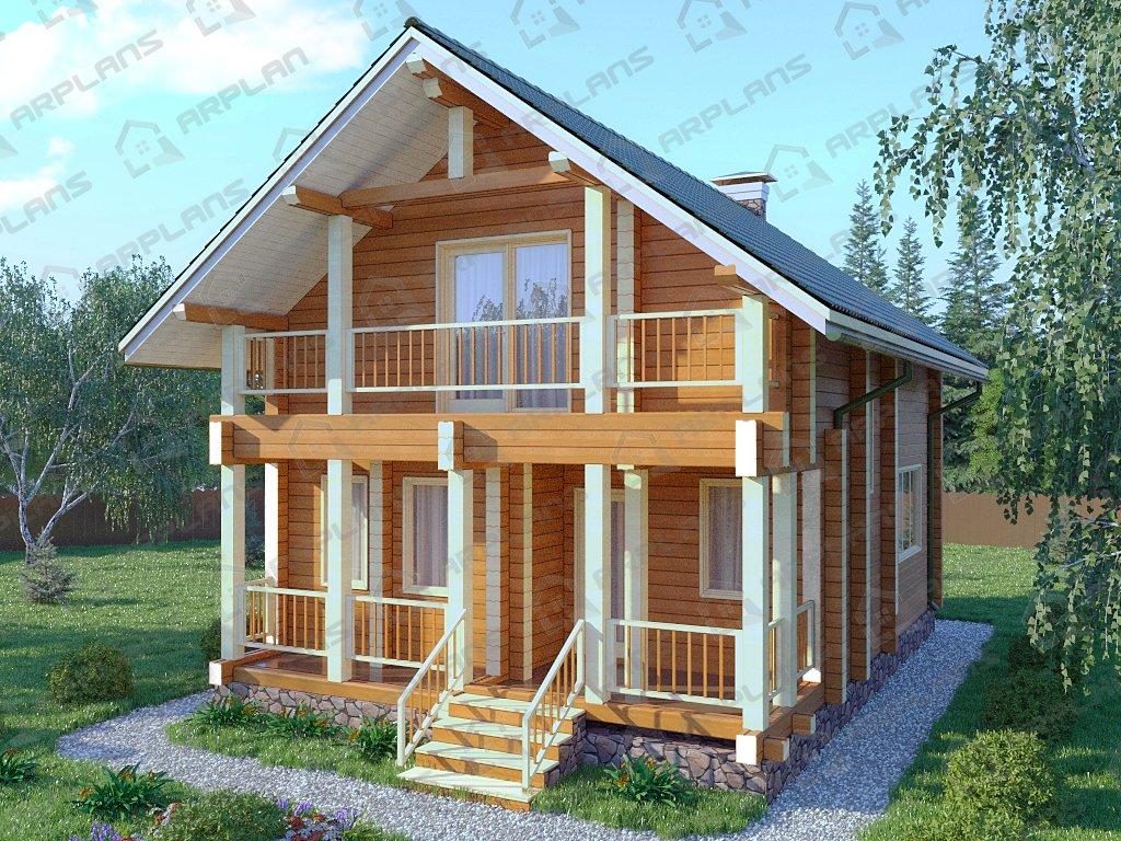 Проект дома ДС-040 (110.12 кв.м)