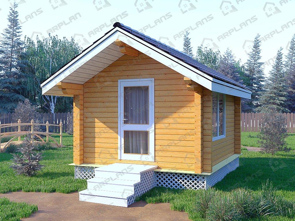 Проект дома ДС-039 (11.20 кв.м)